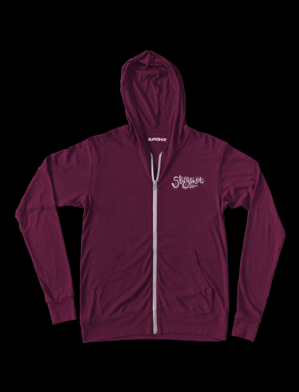 Woman High Tide Hoody Burgandy